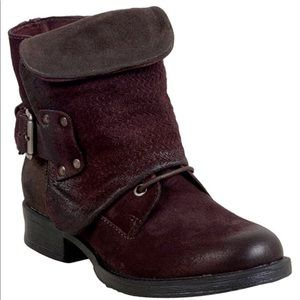Miz Mooz Burgundy Timika Boots 36